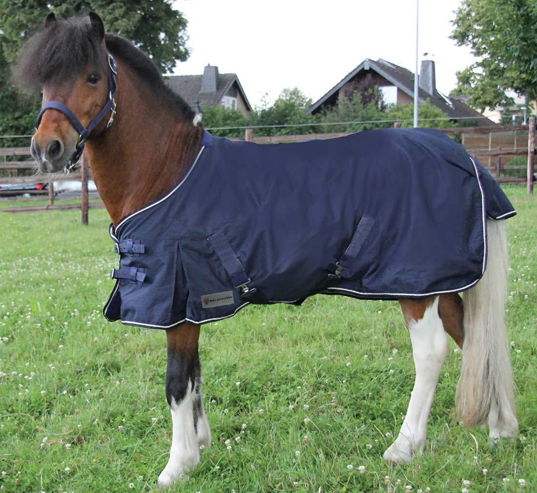 Crossed Straps Amesbichler Shetland Pony Rain Cover Dark Blue Size 80