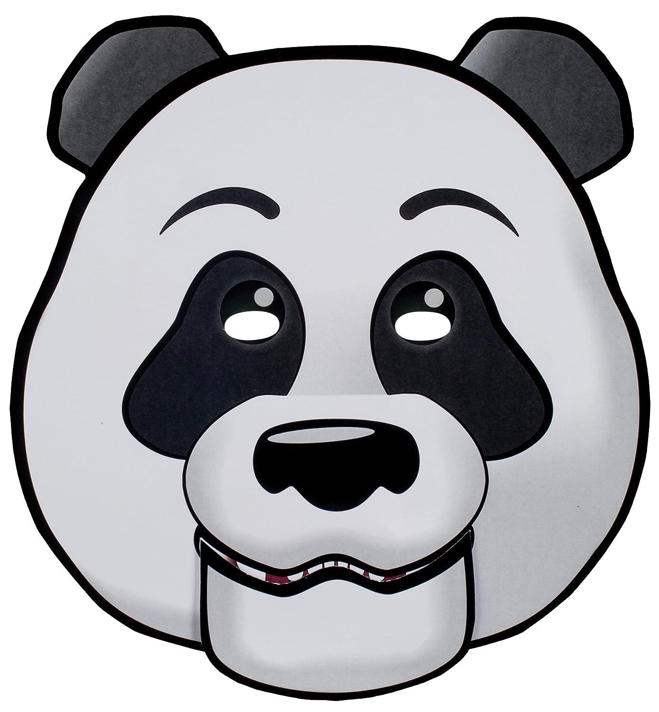 Amazon.com: Moving Mouth mask-paper Panda face-talking Headz ...