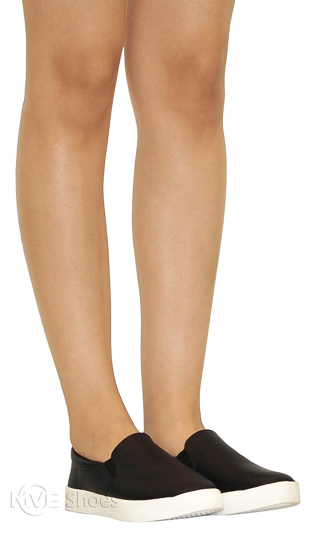 SODA Womens Preforated Slip On Sneakers