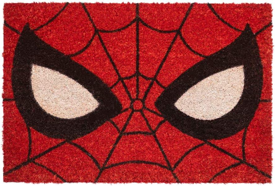 ERIK - Felpudo entrada casa Ojos Spiderman, Marvel (40x 60 cm)