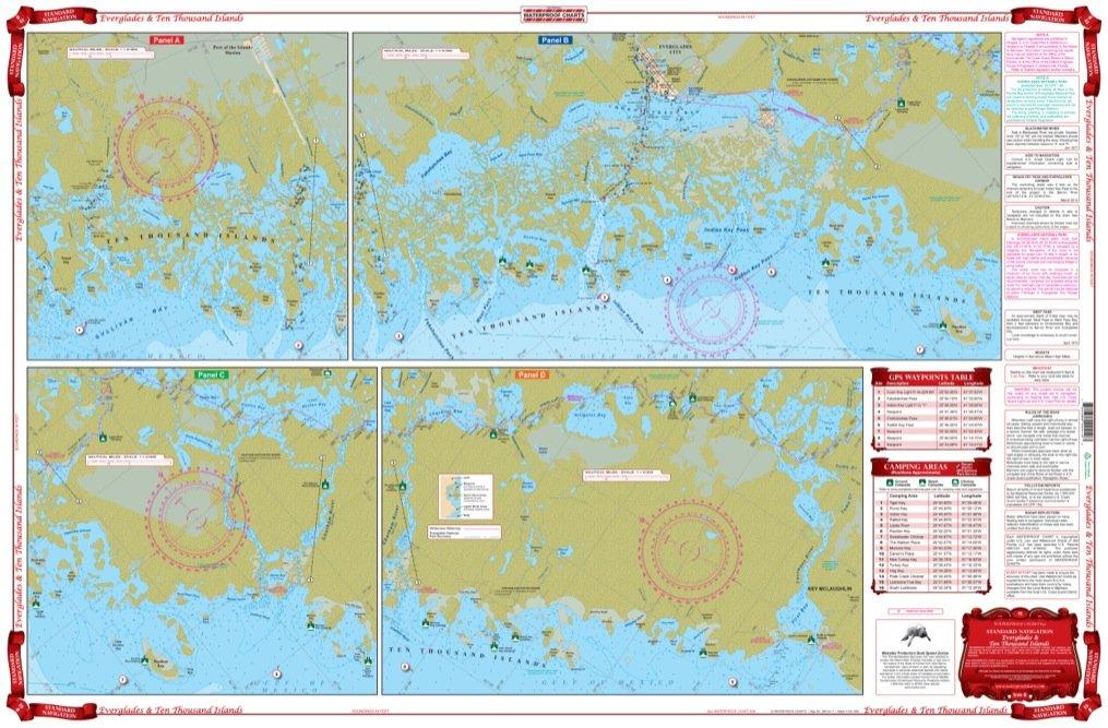 Amazon.com: Impermeable gráficos, estándar, 41 Everglades de ...