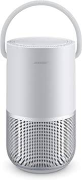 Oferta amazon: Bose Portable Smart Speaker - Altavoz portátil con control de voz Alexa integrado, Color Plata