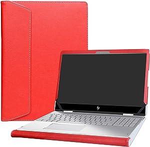 "Alapmk Protective Case Cover for 15.6"" HP Envy X360 15 15-cnXXXX 15m-cnXXXX 15-cpXXXX 15m-cpXXXX Laptop [Warning:Not fit Envy X360 15 15-apXXX 15-arXXX 15-wXXX 15-bqXXX 15-bpXXX 15-uXXX Series],Red"