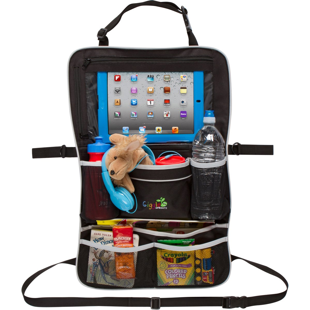Amazon.com: Giggle Sprouts Universal Backseat Car Organizer: Baby