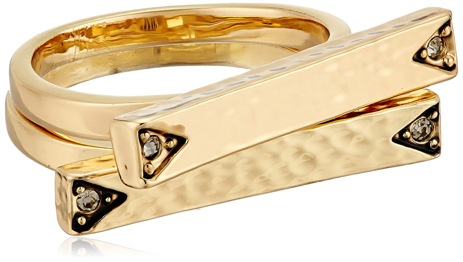 House of Harlow 1960 Womens Scutum Bar Ring Set Size 7 Mouawad USA Inc Parent Code R002180-7