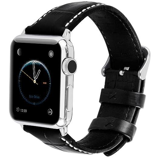 6 opinioni per Apple Watch Cinturino, Fullmosa®Bosin Serie Cinturino di Vera Pelle y particella