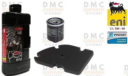 Kit de filtro de aceite - filtro de aire - aceite del motor ...