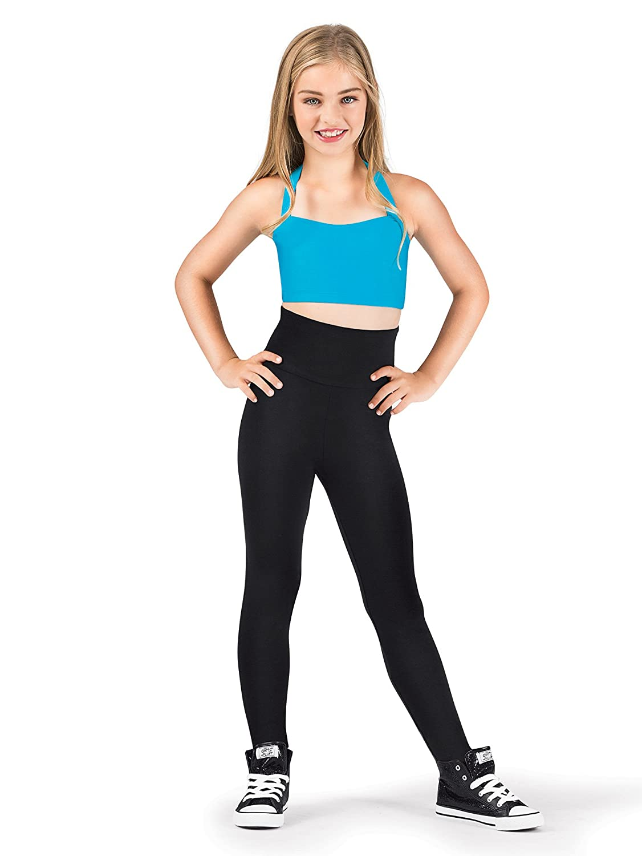 Natalie Dancewear Girls Cotton High Waist Leggings N8809C