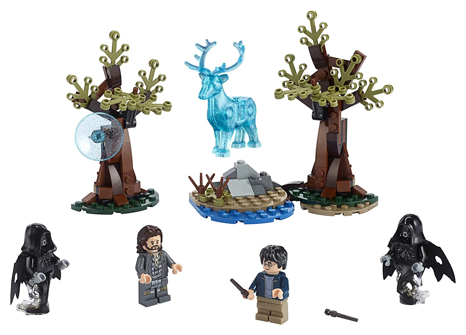 121 Pieces LEGO Harry Potter and The Prisoner of Azkaban Expecto Patronum 75945 Building Kit