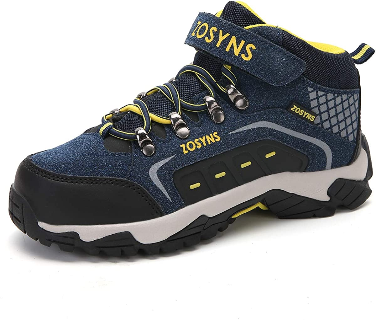 Zapatillas de Senderismo Montaña Trekking Unisex Niños Calzados de ...