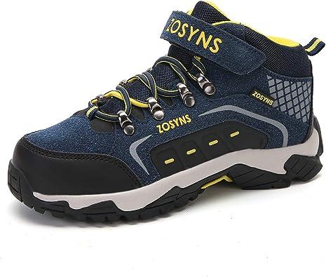 Zapatillas de Senderismo Montaña Trekking Unisex Niños Calzados de Sports Running Deportes de Exterior Walking Casual Zapatos para Niño Niña: Amazon.es: Zapatos y complementos