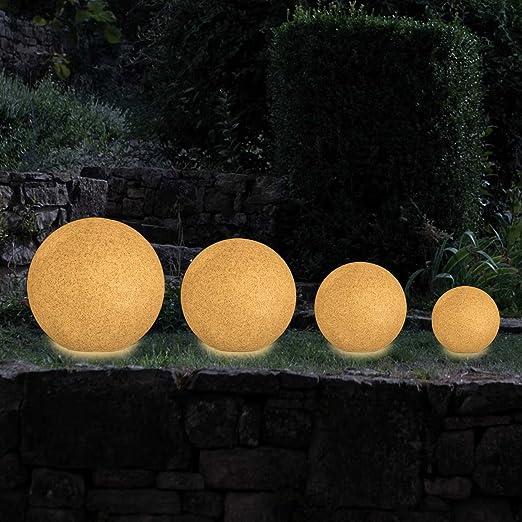 Lampe Kugelform Aussen Leuchte Gartenleuchte Garten Terrasse