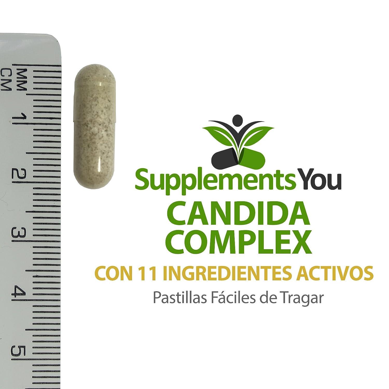 COMPLEJO CÁNDIDA 60 Suplementos Premium para ayudarte a REEMPLAZAR Y RESTAURAR la BACTERIA BENEFICIOSA y a REDUCIR Y LIMPIARTE de cualquier CANDIDIASIS.
