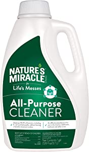 Nature's Miracle Brand For Life's Messes All-purpose Cleaner, 128 Fl Oz, Destroys 99.9% Of Bacteria