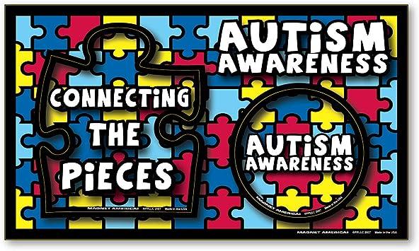 Amazon Com Autism Awareness Photo Frame Indoor Magnet Automotive