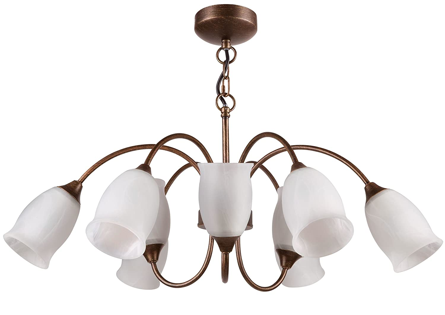 Buy philips 30920 15 watt tulip chandelier light brown brush buy philips 30920 15 watt tulip chandelier light brown brush online at low prices in india amazon aloadofball Image collections