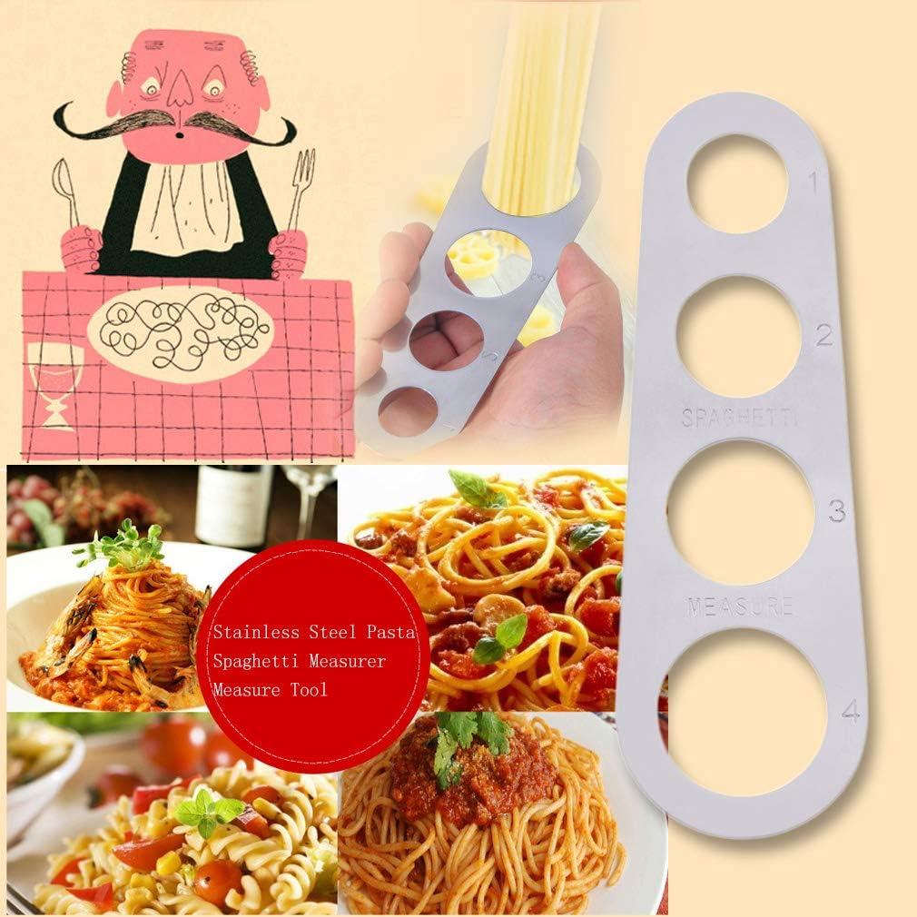 Ndier Stainless Steel Pasta Dosaspaghetti Misura utensile da Cucina Gadget