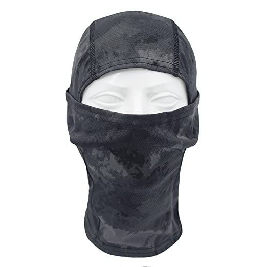 Amazon.com: tclian camuflaje Balaclava Full Face máscara ...