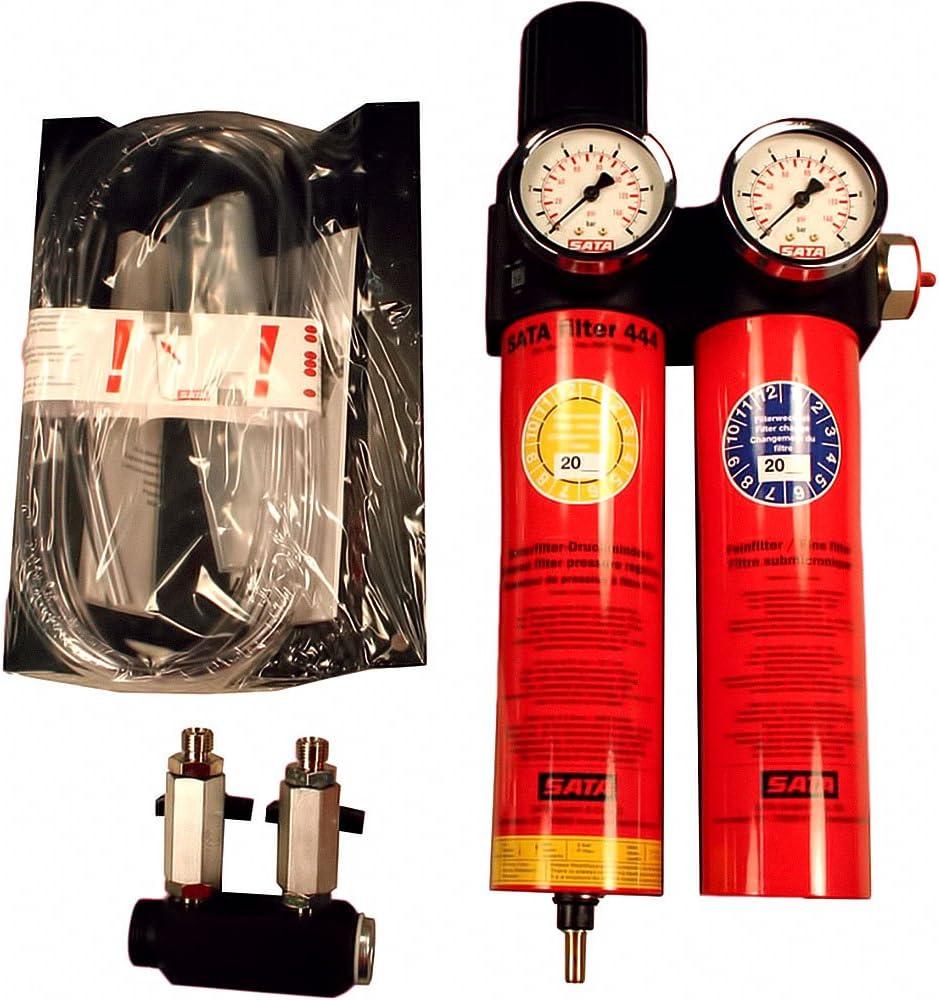 SATA unidad combinada Fein filtro Filtro 444 de 2 etapas sinter ...