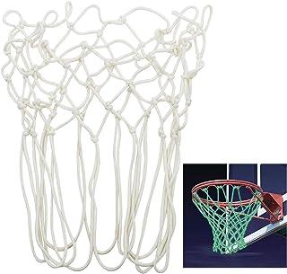 TRIXES Red de Nilón Baloncesto con 12 Bucles Resplandece en la Oscuridad