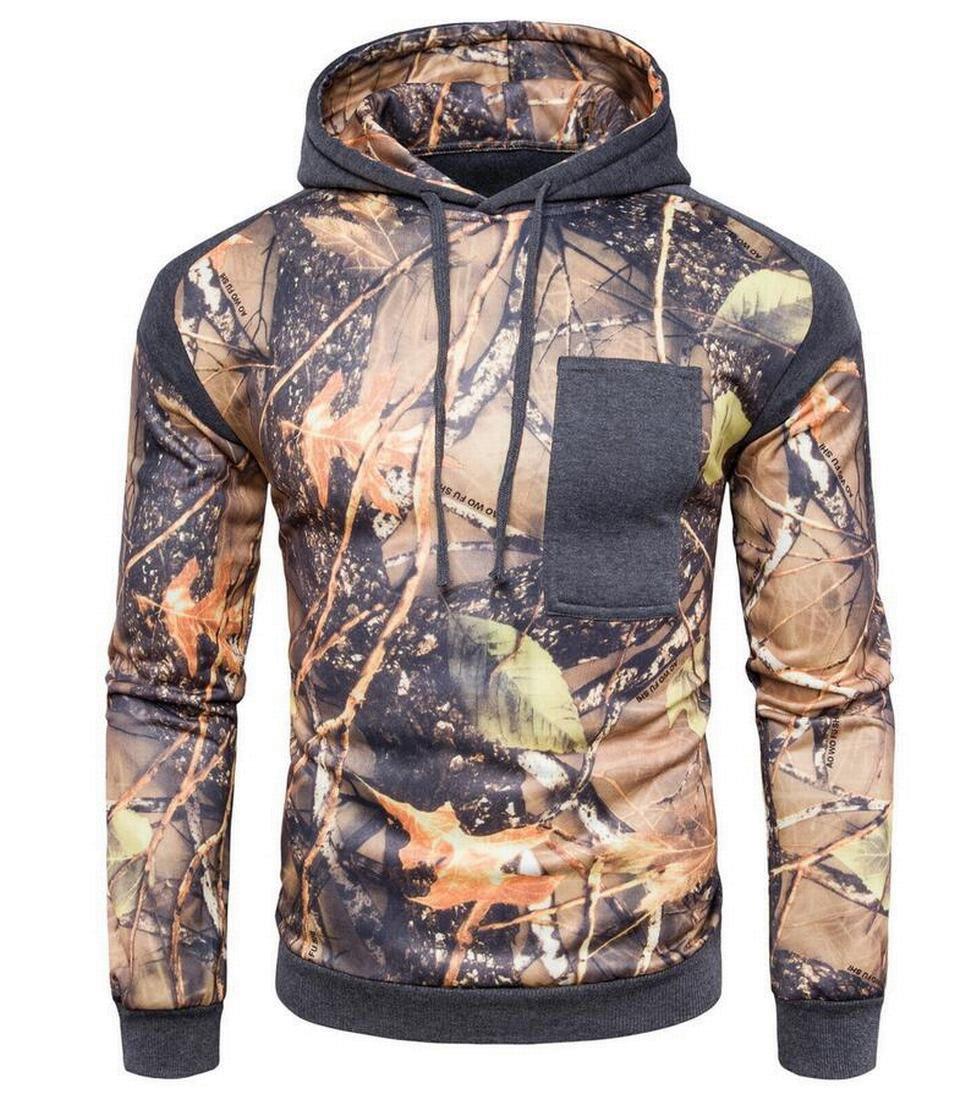 sull Mens Vintage Rider Classic Hunting Hoodie Realtree Max Sweatshirts
