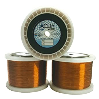Aqua wire copper winding wire for motor pumps size swg 23 or dia aqua wire copper winding wire for motor pumps size swg 23 or dia 0610mm greentooth Choice Image