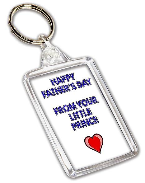 AKGifts Feliz día del Padre de tu pequeño Príncipe Llavero ...