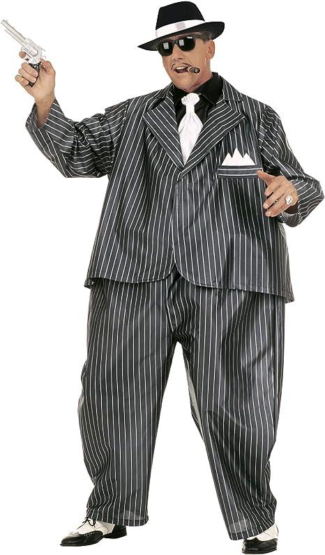 WIDMANN Desconocido 4501G - Adult Costume Dicker traje de gángster ...