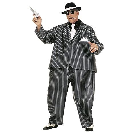 Amazon.com: Fat Gangster traje (Wire aro Jumpsuit chamarra ...