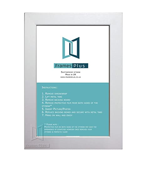 White Wooden Effect Picture Photo Frames Size A1 234x331