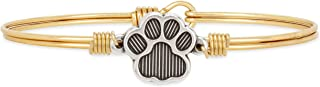product image for Luca + Danni | Pawprint Bangle Bracelet For Women Made in USA