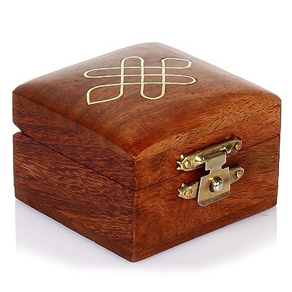 Amazon.com: Hashcart - Joyero artesanal indio hecho a mano y ...