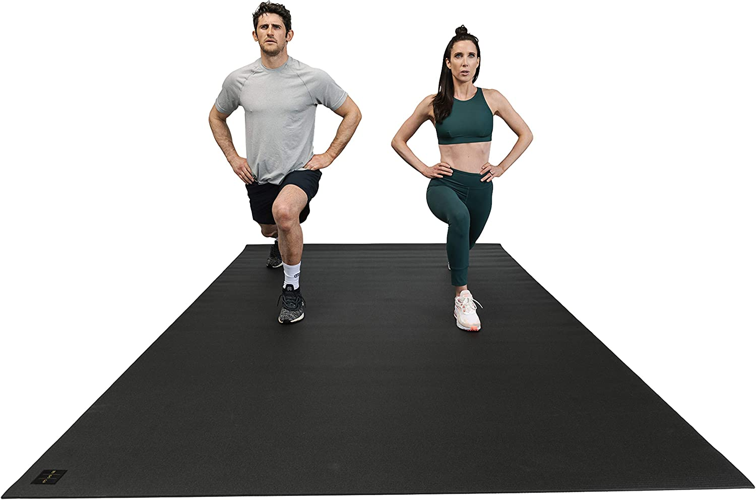 Square36 Large Exercise Mat 12 Ft x 6 Ft x 7mm (144