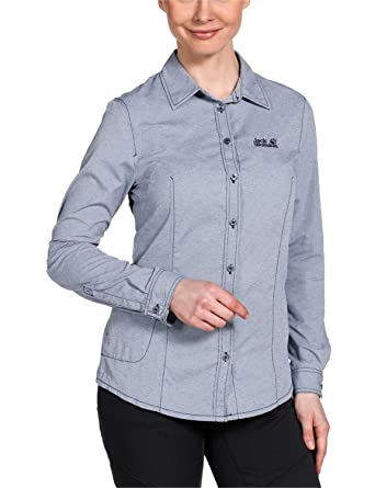hot products new lifestyle hot sale online Jack Wolfskin Damen Bluse Rayleigh Stretch Vent Shirt W