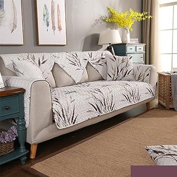 Nclon Anti-Que Patina Algodón Toalla de sofá Funda para sofá ...