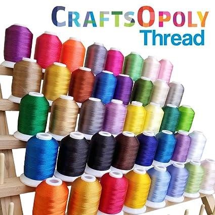 Amazon Craftsopoly Machine Embroidery Thread Self Lock Spools
