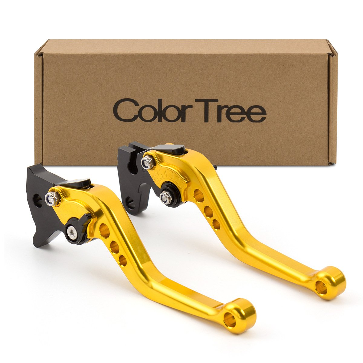 color tree Motorcycle Short Adjustable Billet Brake Clutch CNC Levers fit for BMW R1200R 06-14,R1200GS 04-12,R1200GS Adventure 06-13,K1200R SPORT R1200S 06-08