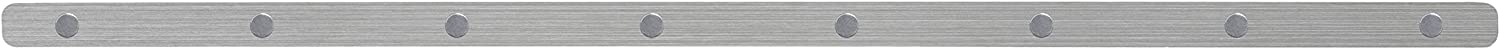 """Three By Three Seattle Magnetic Skinny Strip, Stainless, 24"""" (31505)"""