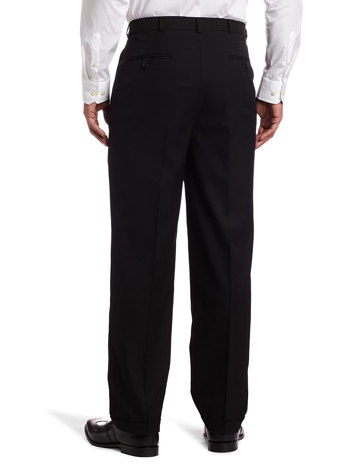 Haggar Mens Solid Pleat Front Suit Separate Pant 21412286456