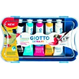 Giotto scatola con 5 tubetti 21ml tempera extrafine
