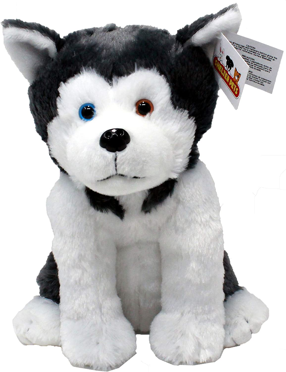 Amazon Com Shelter Pets Oakland The Dog 10 Siberian Husky Malamute Plush Toy Stuffed Animals Based On Real Life Adopted Pets Benefiting The Animal Shelters They Were Adopted From Toys Had worms, fleas, hated feet so she probably was my cousin has a family member with giant breed alaskan malamute twins, and they are the biggest sweethearts i have met! shelter pets oakland the dog 10 siberian husky malamute plush toy stuffed animals based on real life adopted pets benefiting the animal
