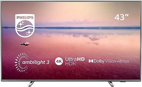 TV 43 4K STV SAPHI AMBILIGHT 3 Side: Philips: Amazon.es: Electrónica
