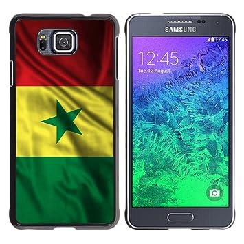 FJCases Senegal Senegalés Bandera Ondeante Carcasa Funda ...