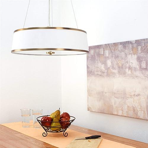 Kira Home Zoey 22″ Modern 4-Light Drum Pendant Chandelier