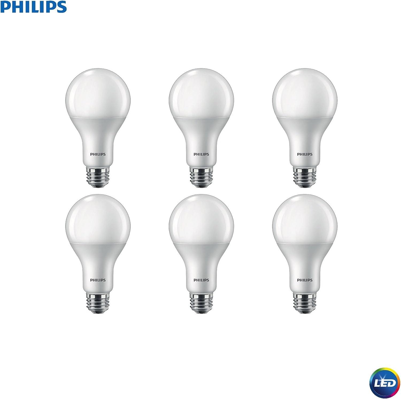 Philips LED 479477 12A21//PER//850//P//E26//DIM 6//1FB Light Bulb 6 Piece 6-Pack Day