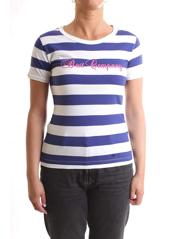 BEST COMPANY 592524 T-Shirt/Polo Mujer Blanco L: Amazon.es: Ropa y ...