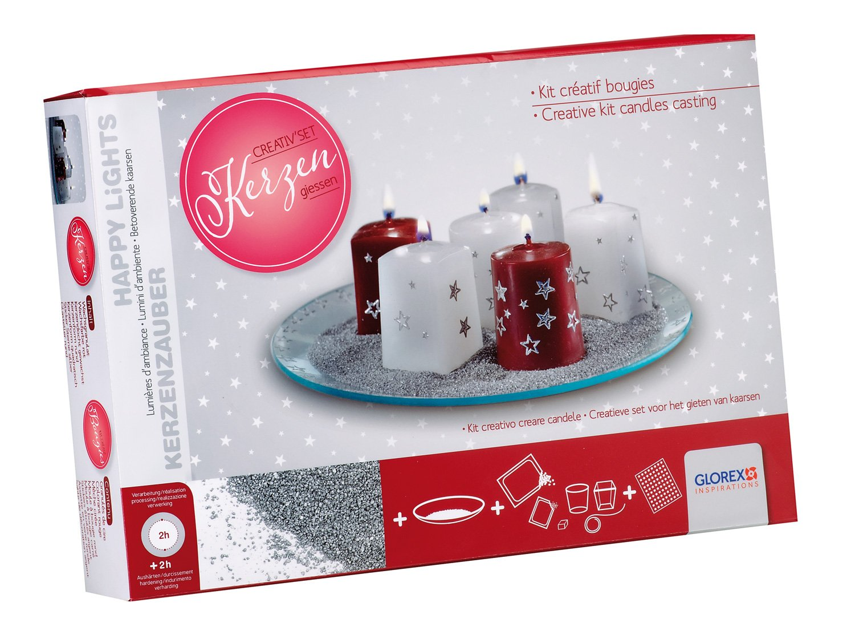 Glorex GmbH 6 8650 102 Creativset Kerzen formen und verzieren