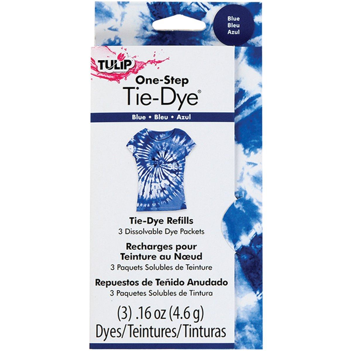 amazon com tulip one step dye refills blue