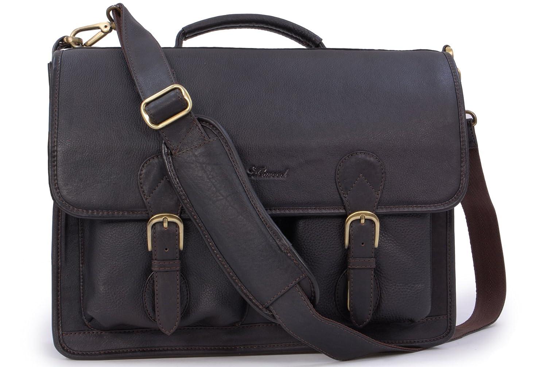 ASHWOOD - 8190 - Maletín / Bolso para portátil - Cuero - Grande Ashwood Leather
