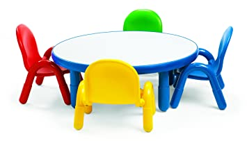sc 1 st  Amazon.com & Amazon.com: Angeles Toddler Table u0026 Chair Set ROYAL BLUE: Toys u0026 Games